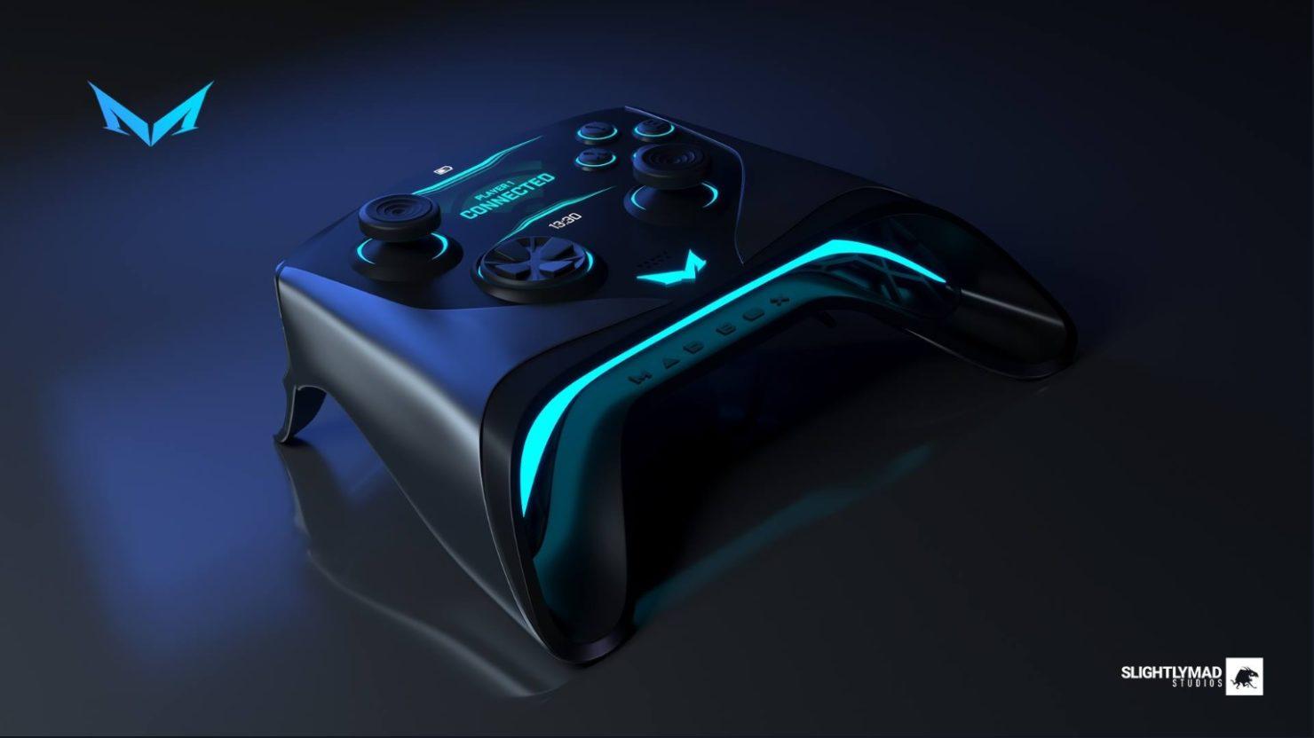 «Verdens kraftigste spillkonsoll»-kontrolleren