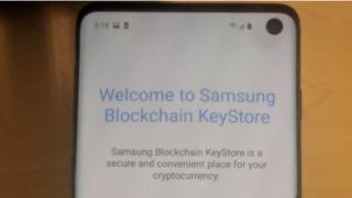 Samsung introduserer med Galaxy S10 også mulighet for en form for bruk av kryptovaluta.