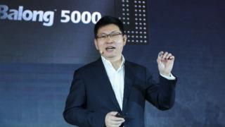 Huawei viste frem ny 5G-brikke
