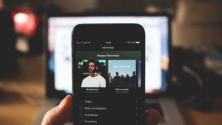 Spotify tester bilmodus