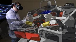 Ford har meldt stor interesse for å kunne designe biler i 3D ved hjelp av VR.