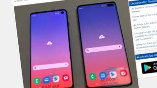 Her er de: Samsung S10 og S10+
