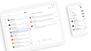 Endelig får Gmail det samme designet både på mobil og i nettleseren på datamaskinen.