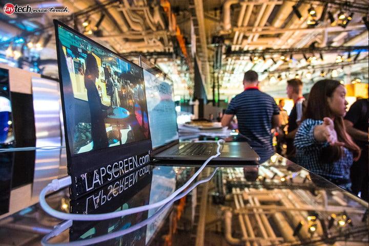 Lapscreen ble vist frem under årets teknologimesse i Las Vegas.