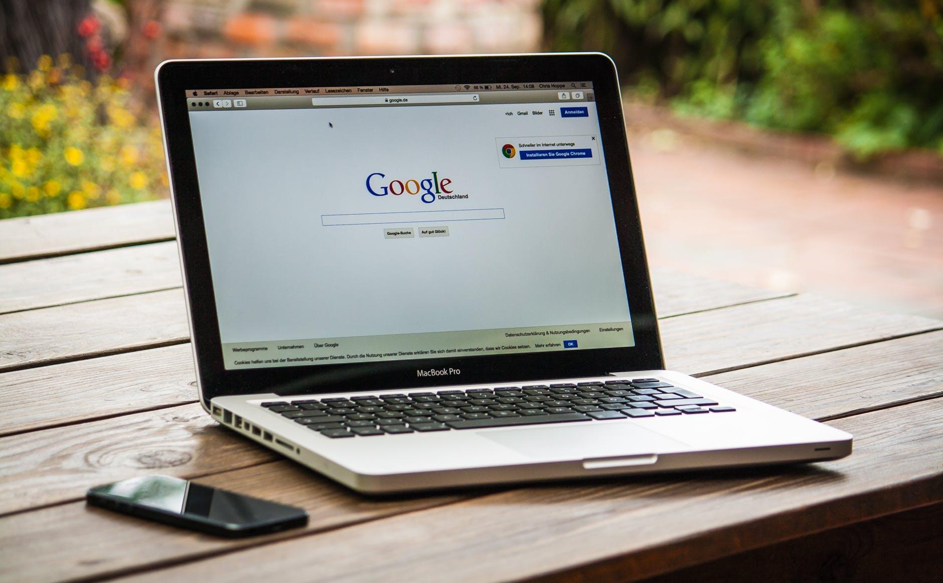Google foreslår endring