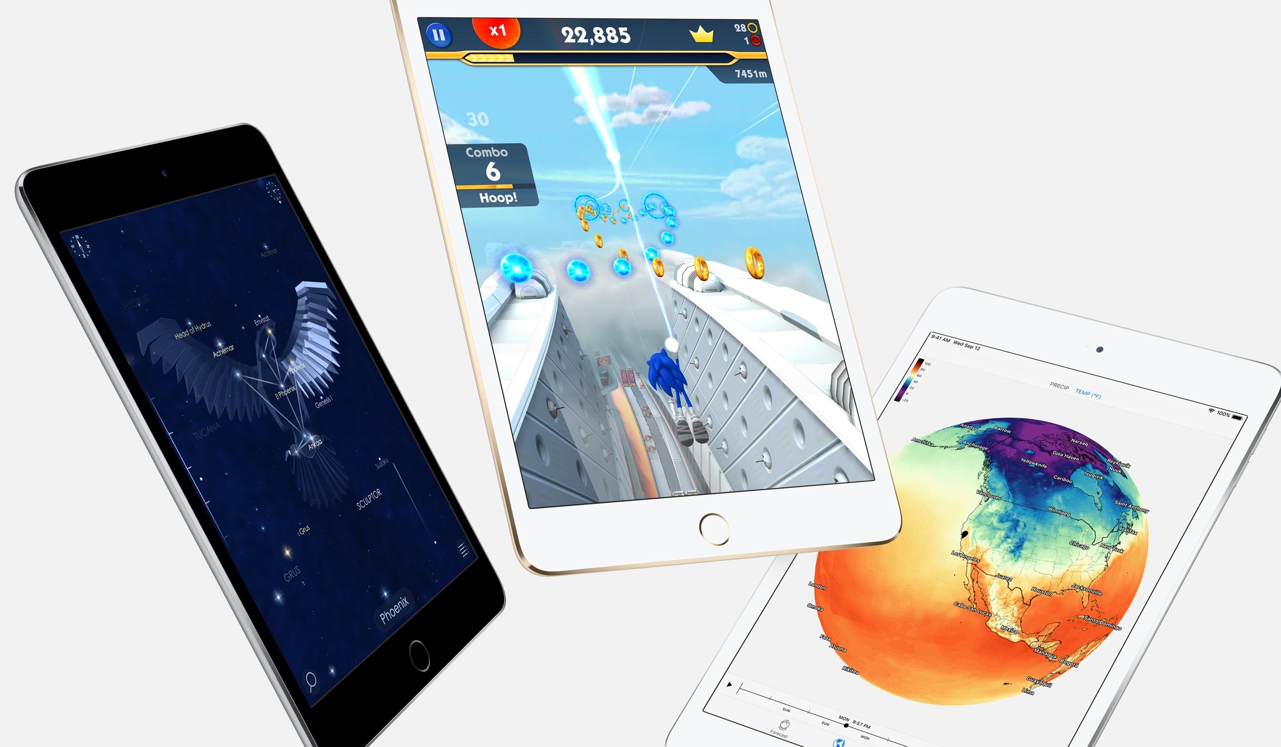 Det er avslørt en haug nye iPad-modeller