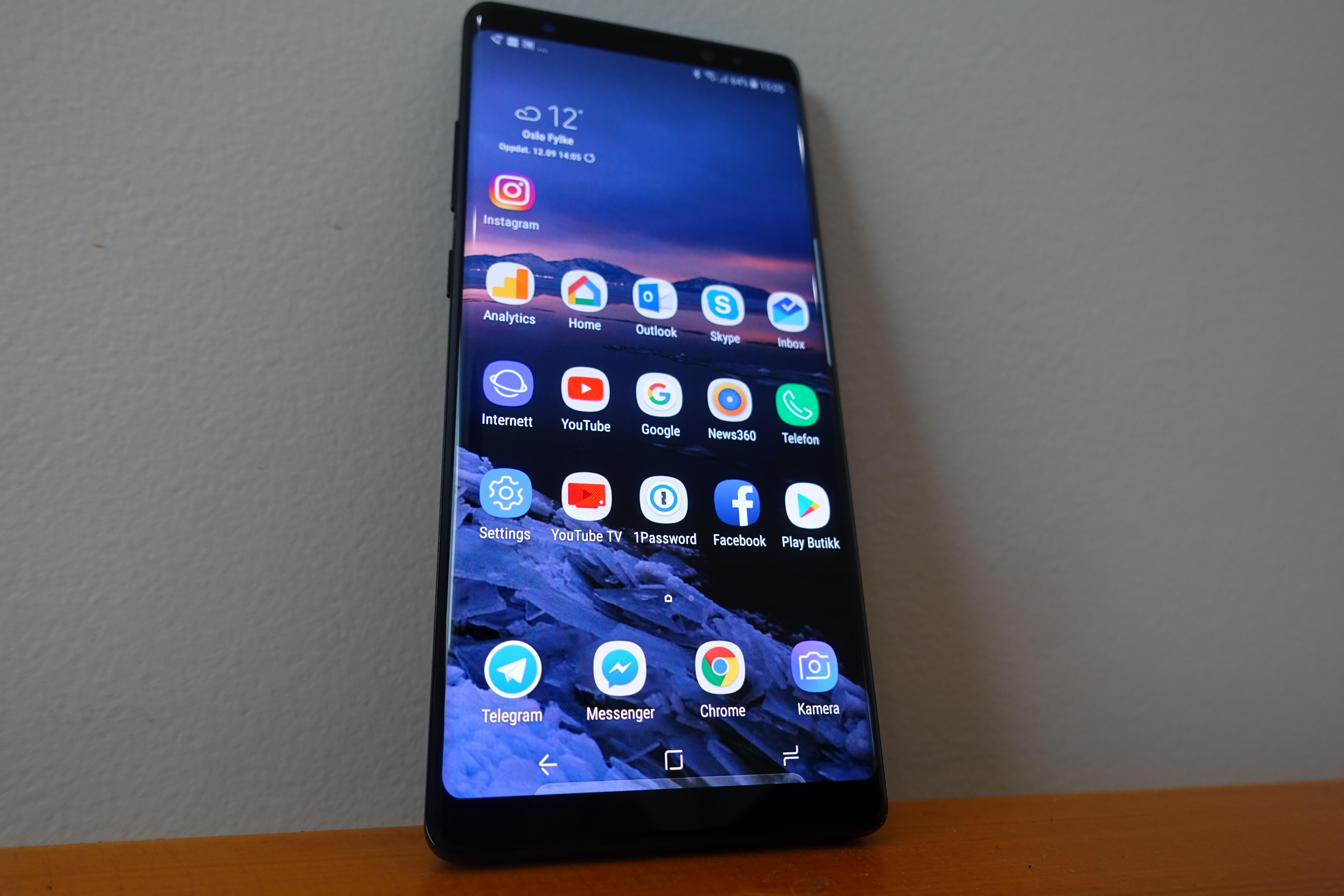 Dette er nytt i Android 8 for Galaxy Note 8 ITavisen
