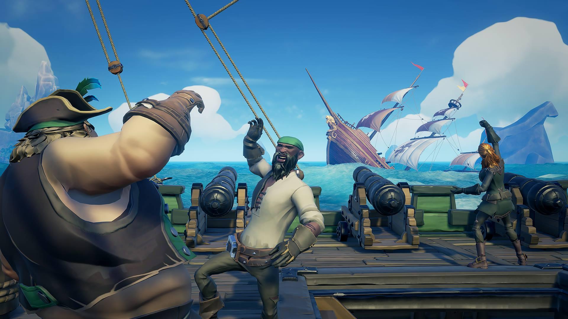 Sea of Thieves-skaperne gir etter for spillernes ønske om valgfri kryss-plattform.