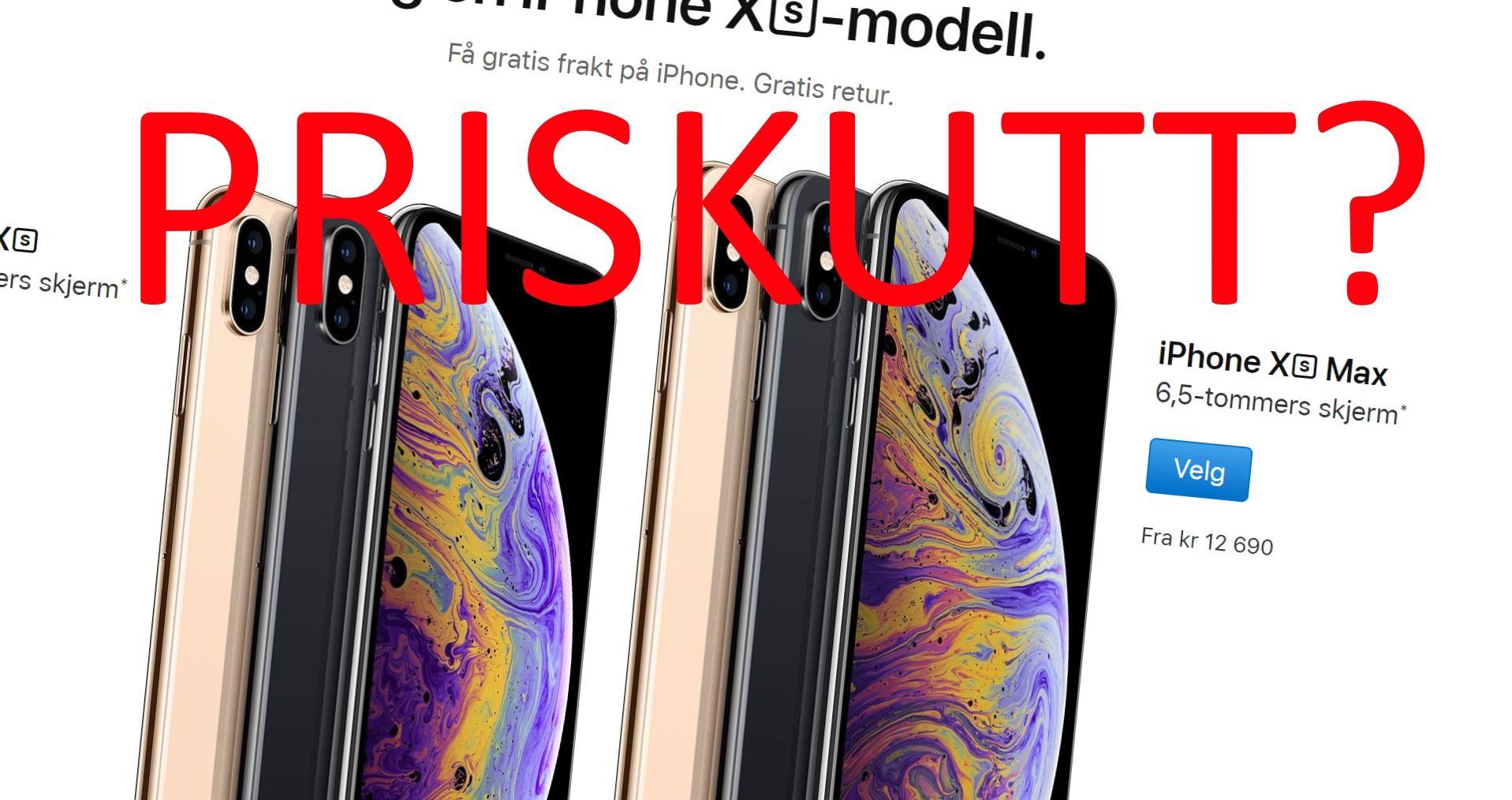 Er Norge en av landene som endelig får iPhone billigere?