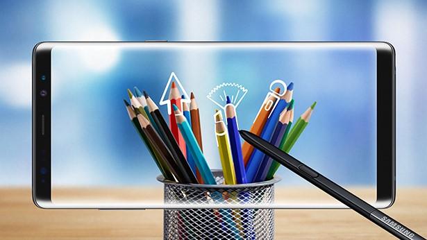 Samsung eksperimenterer med en ny kamerafunksjon for sin stylus-penn.