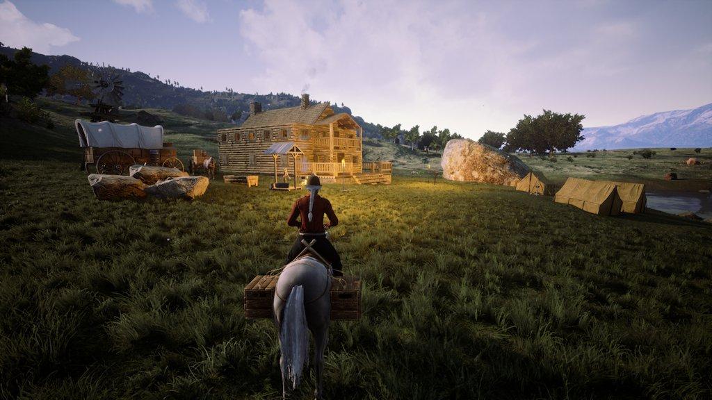 I Outlaws of the Old West handler det om å skrape sammen ressursene du kan for å overleve.