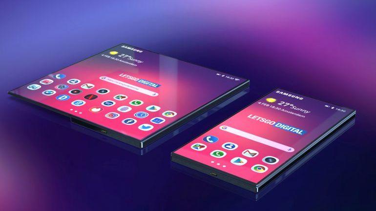 Samsungs foldbare telefon ser lekker ut.
