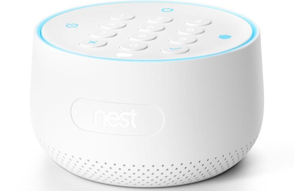 På innsiden av Nest Guard var det en mikrofon som det aldri ble gjort rede for.