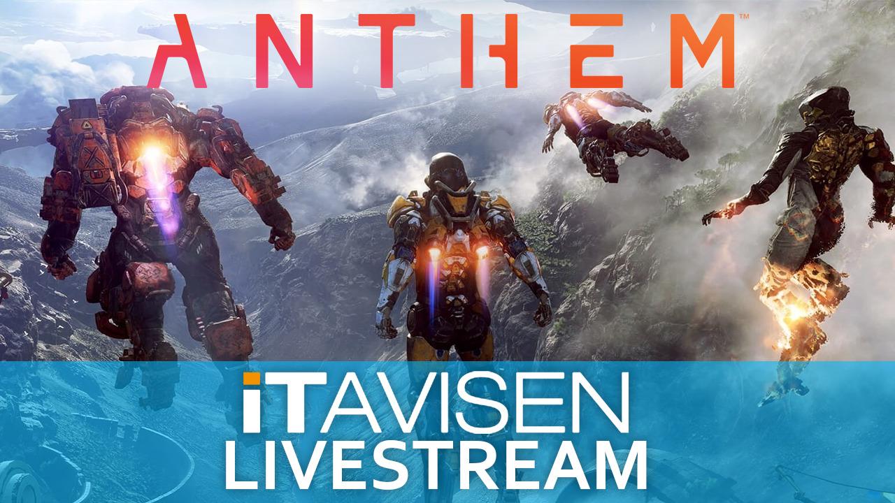 DIREKTE 20:00: Vi spiller Anthem co-op