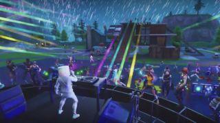 Fortnite ble gjort om til konsertarena lørdag kveld.