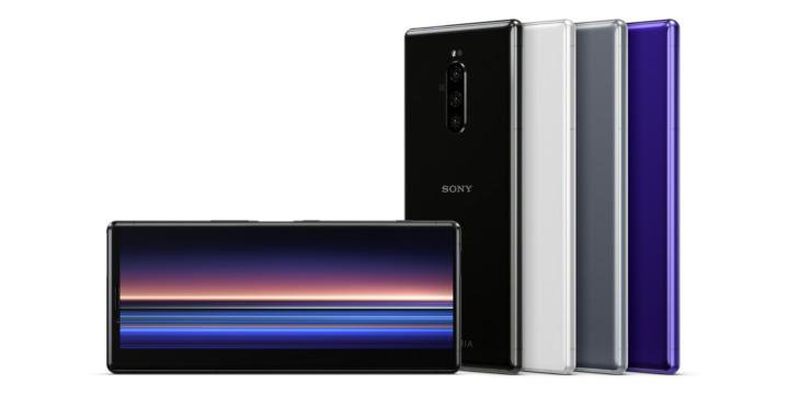 Sony Xperia er den første telefonen med 4K OLED.