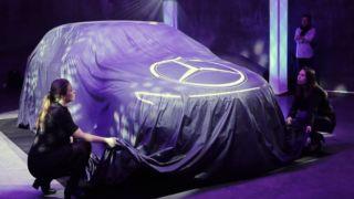 Vi var der da Mercedes lanserte sin nye el-bil: over 400 km og firehjulstrekk