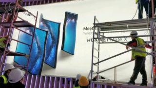 Her er Huaweis første brettbare 5G-telefon.