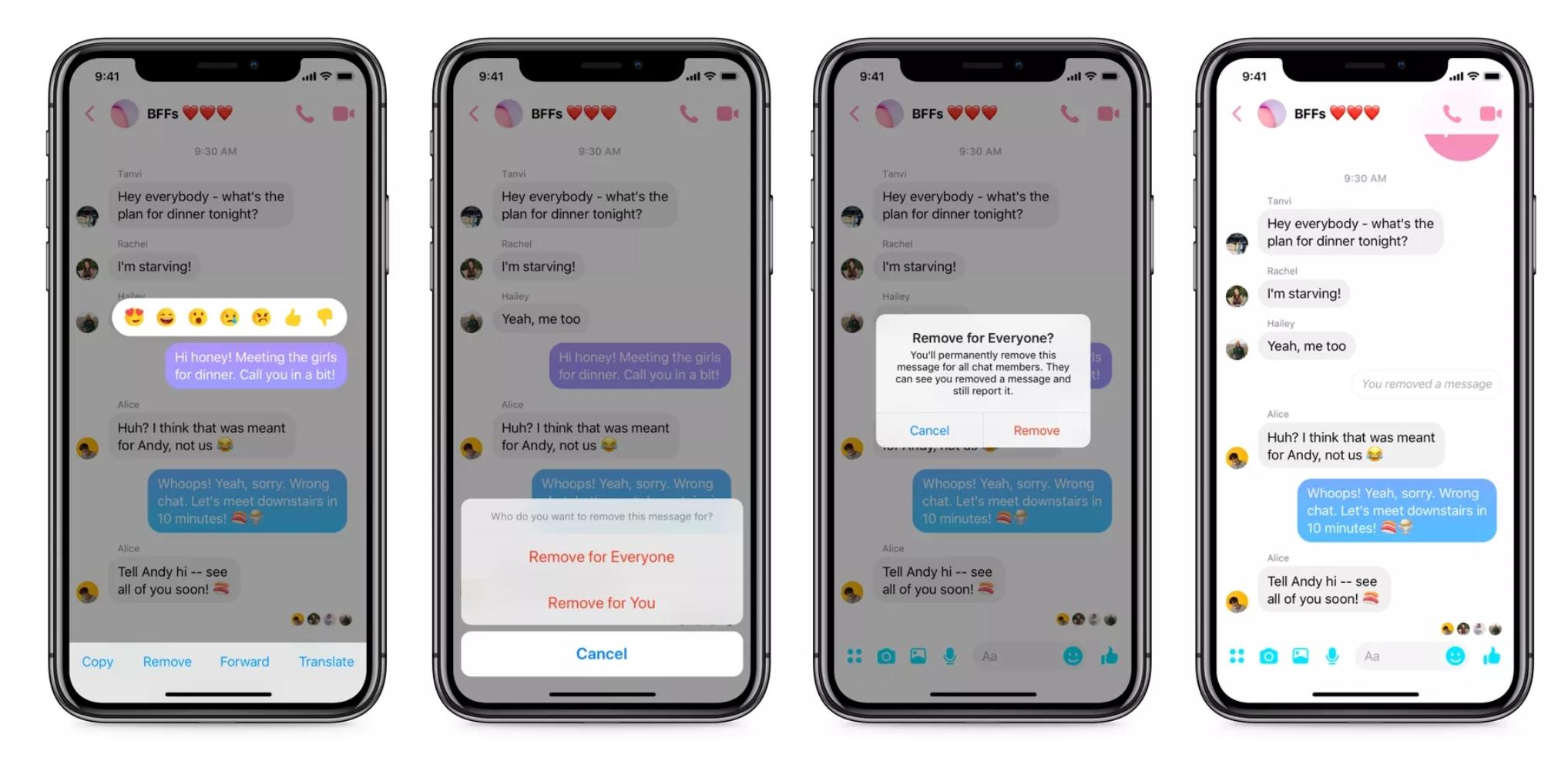 Facebook Messenger gir deg 10 minutter til å angre