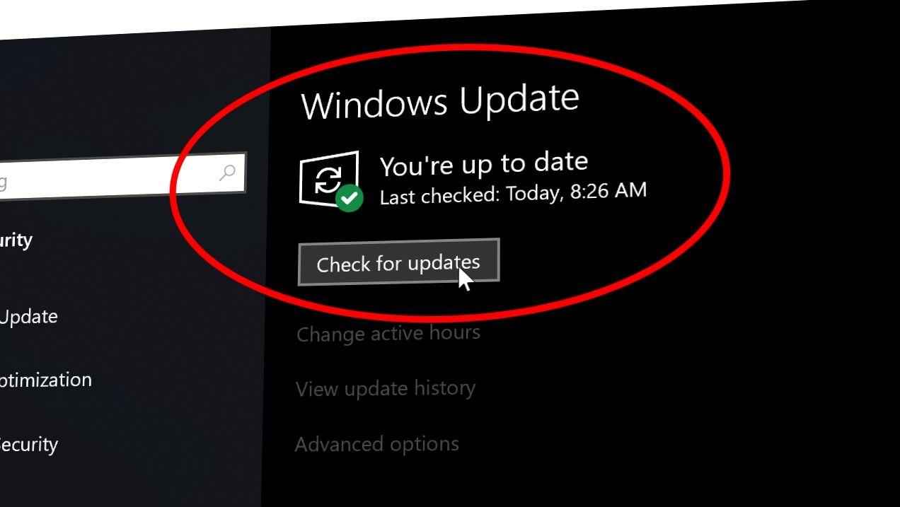 Har oppdatert Windows Update for å unngå DNS-problemer