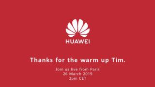 Huawei kommer som vanlig med et stikk mot Apple.