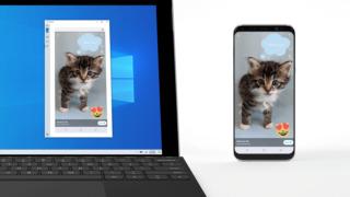 Nå elsker Windows Samsung-mobiler: speil skjermen din til skrivebordet