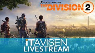 Daniel Lange og Eivind Von Døhlen strømmer Ubisofts storspill The Division 2 direkte klokka 20:00 her hos ITavisen.
