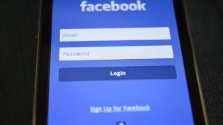 Facebook pålogging mobil