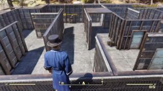 Fallout-spilleren lurte nysgjerrige sjeler inn til labyrinten sin - der ventet et monster.