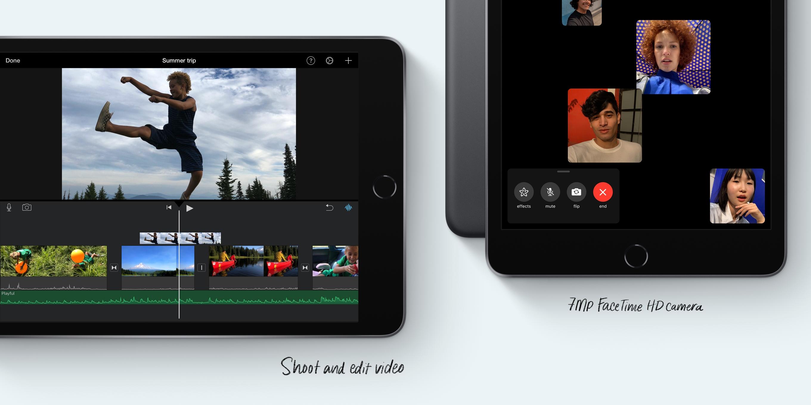 Slik yter Apples nye iPad-er