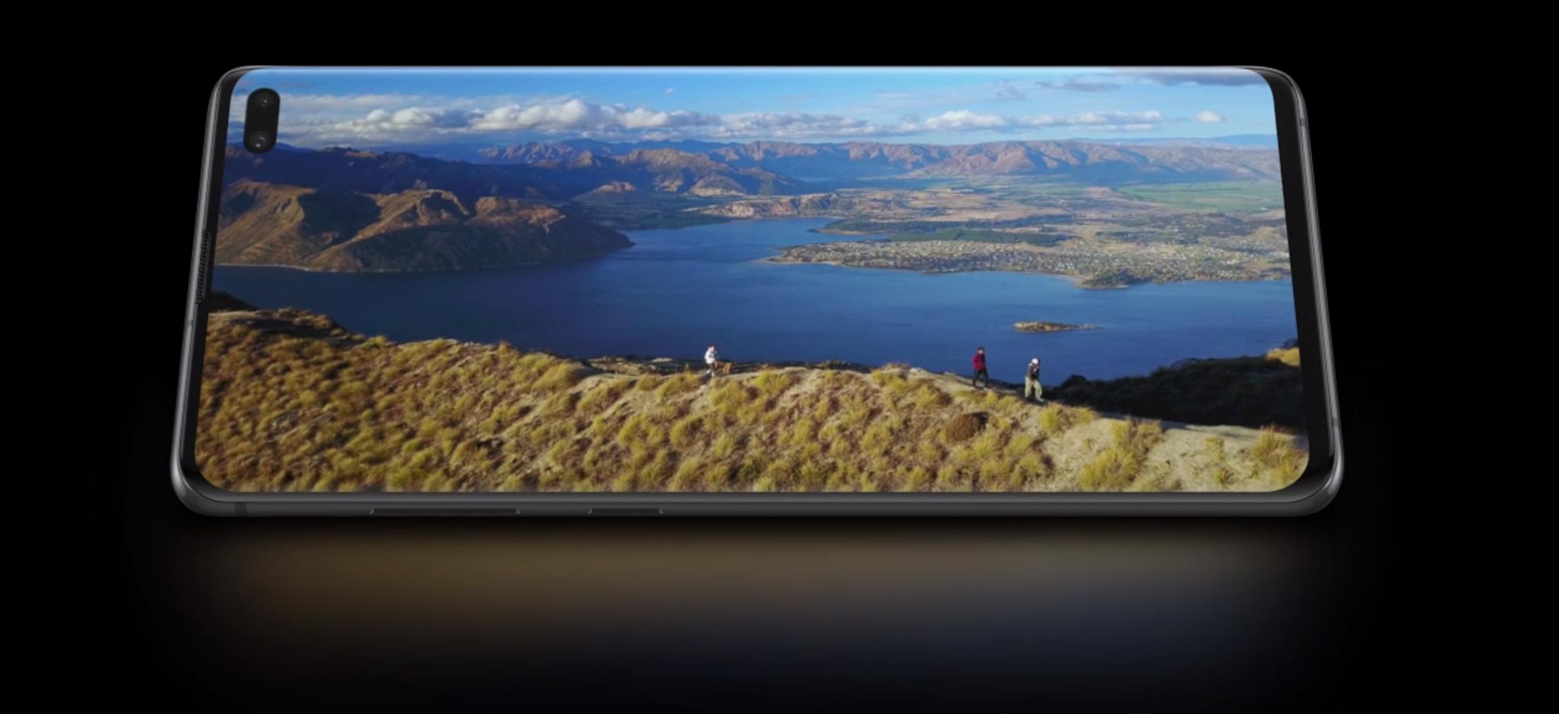 Samsung skal lage Galaxy med kun skjerm og helt uten rammer
