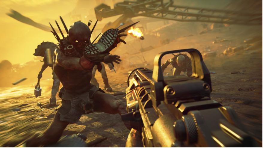 Det post-apokalyptiske spillet til id Software og Bethesda Softworks spilles på PS4 Pro og Xbox One X i 60FPS/1080P.