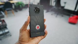 Hydrogen One ble markedsført som verdens første telefon med holografisk skjerm.