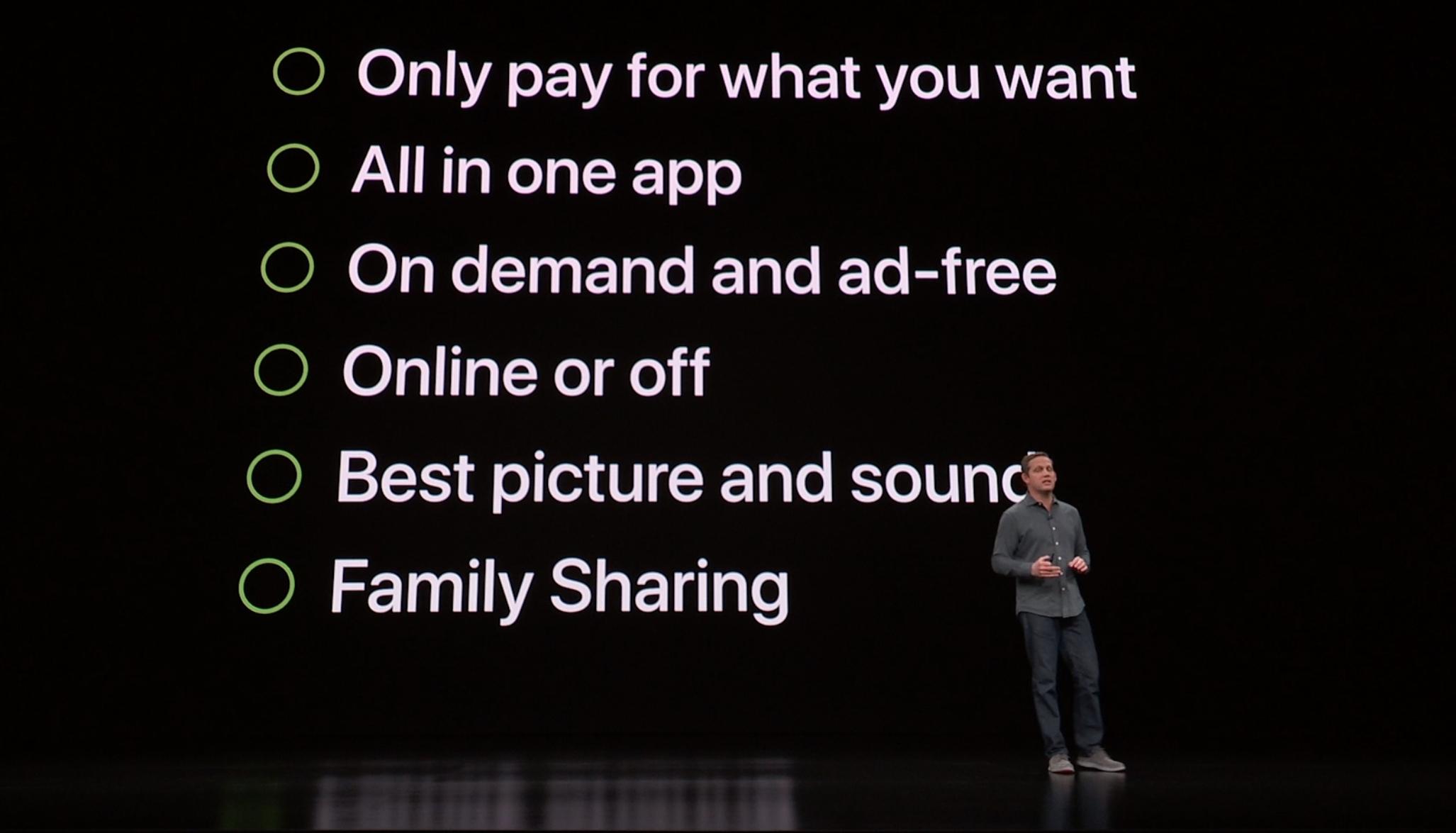 """""""Dette er hvordan TV bør fungere"""", mener Apple."""