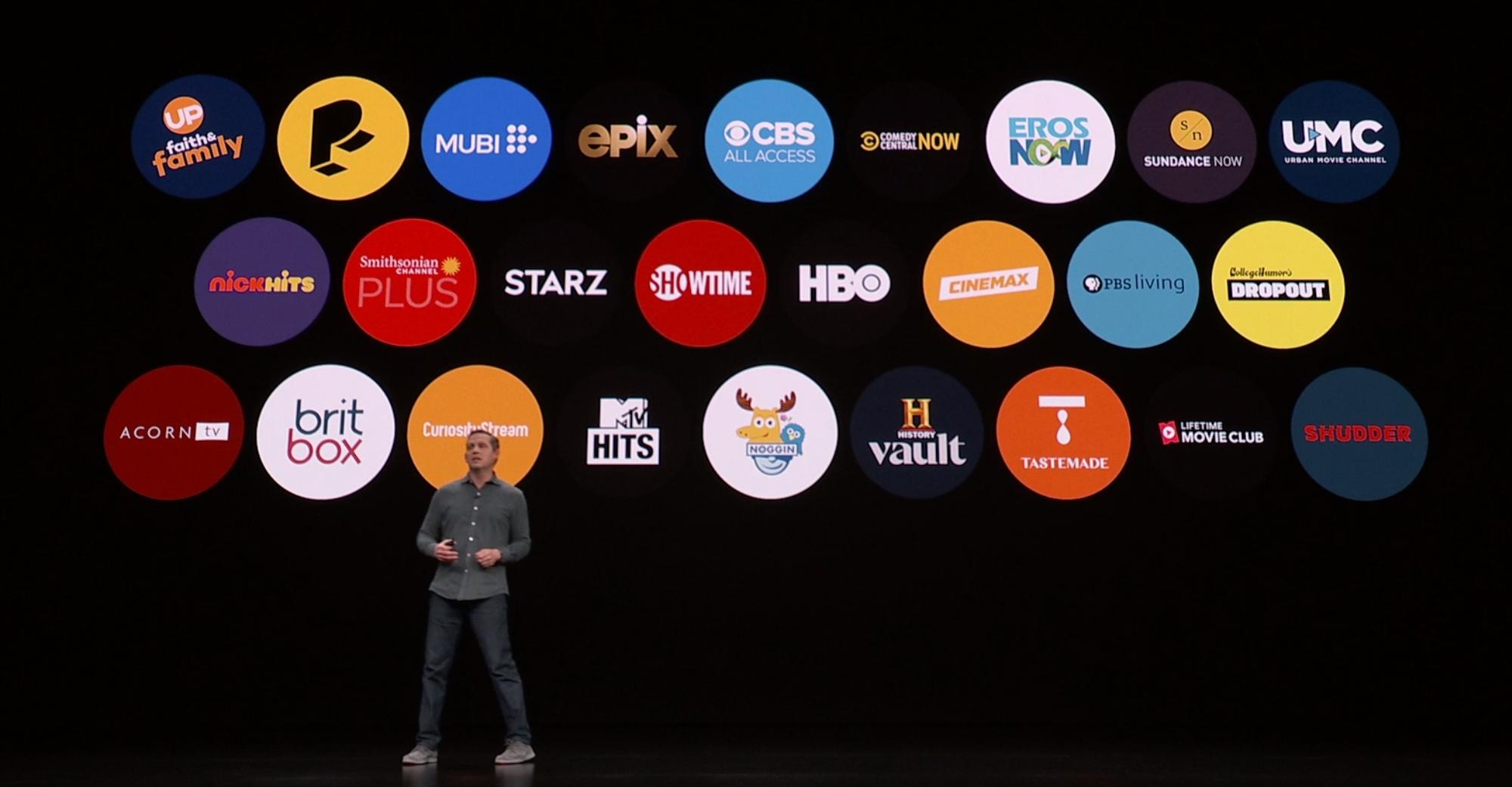 Apple TV Channels.