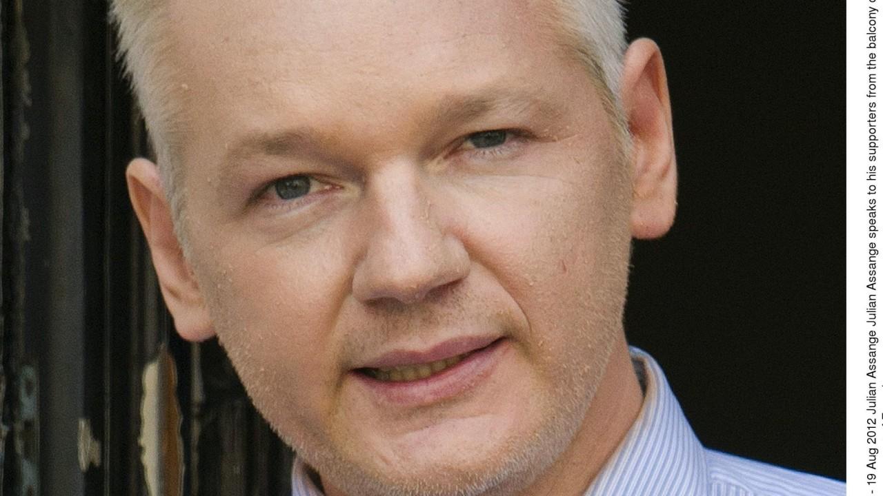 WikiLeaks-grunnleggeren arrestert i London