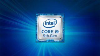 I midten av mai kommer disse: 9. generasjon i9-prosessorer med åtte kjerner og 16 tråder