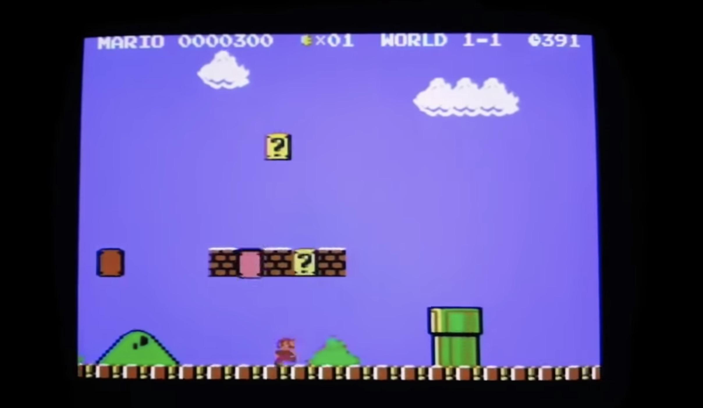 Suoer Mario Bros Commodre 64