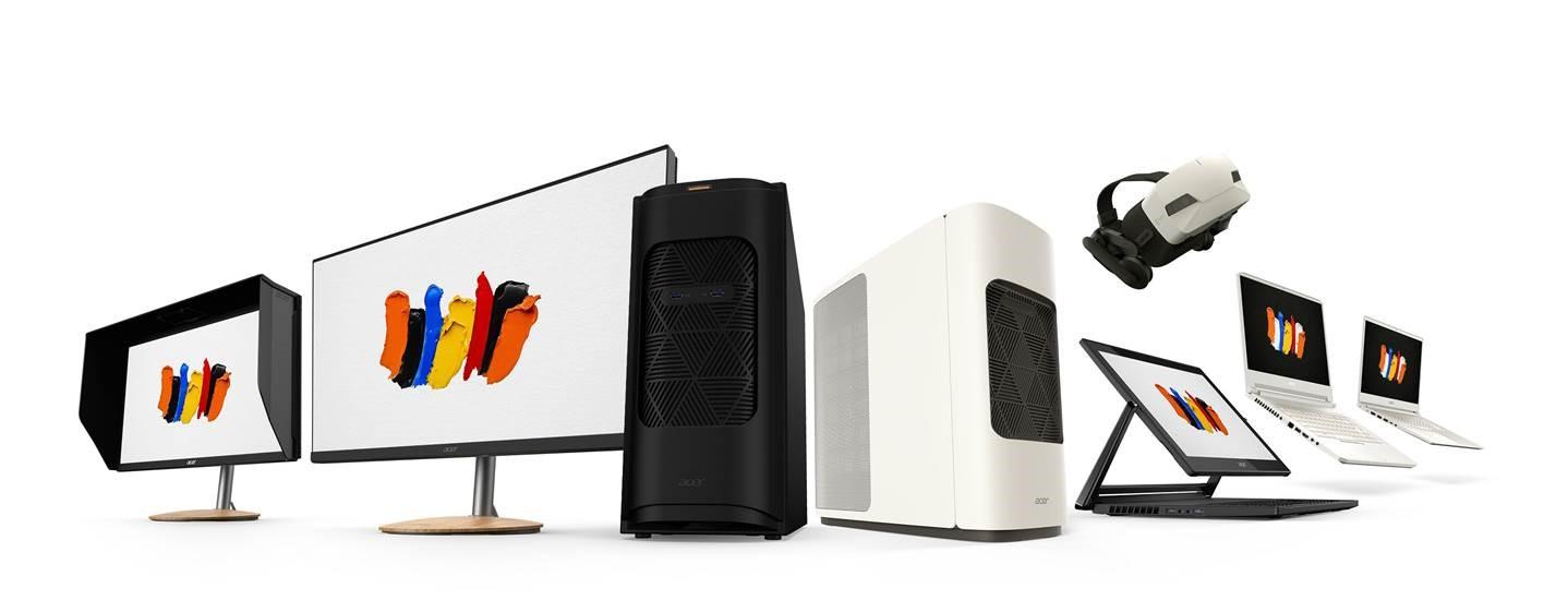 Se hva Acer har gjort med maskinene sine