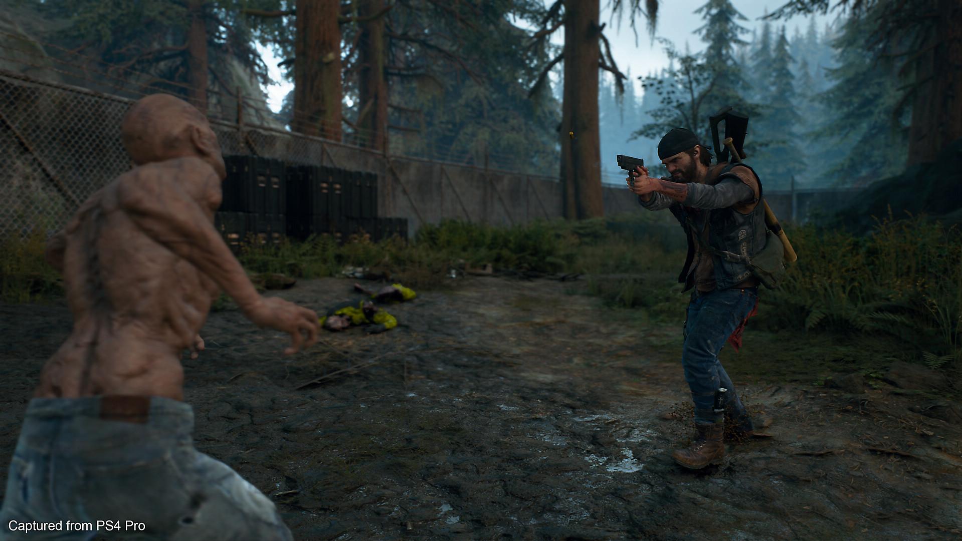 Zombier og skytevåpen, akkurat som i gamledager.