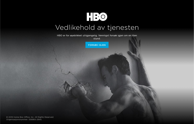HBO Nordic bekrefter at de sliter med tekniske problemer under Game of Thrones-slippet.