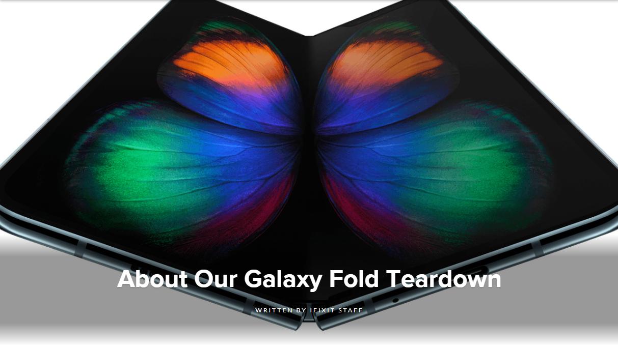 iFixit fjerner Galaxy Fold-demontering fra nettsiden