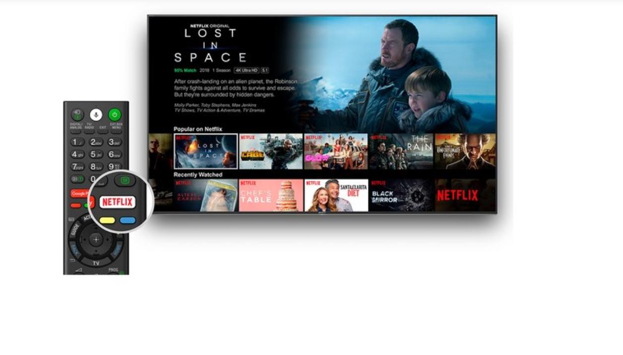 Sonys vanvittige flaggskip TV kommer neste måned med Netflix-modus