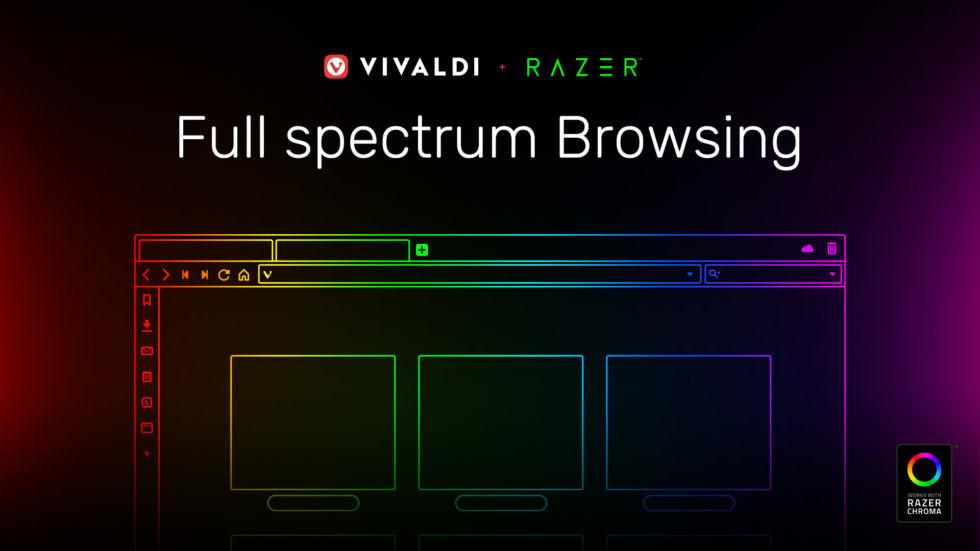 Vivaldi implementerer Razer Chroma-støtte i nettleseren