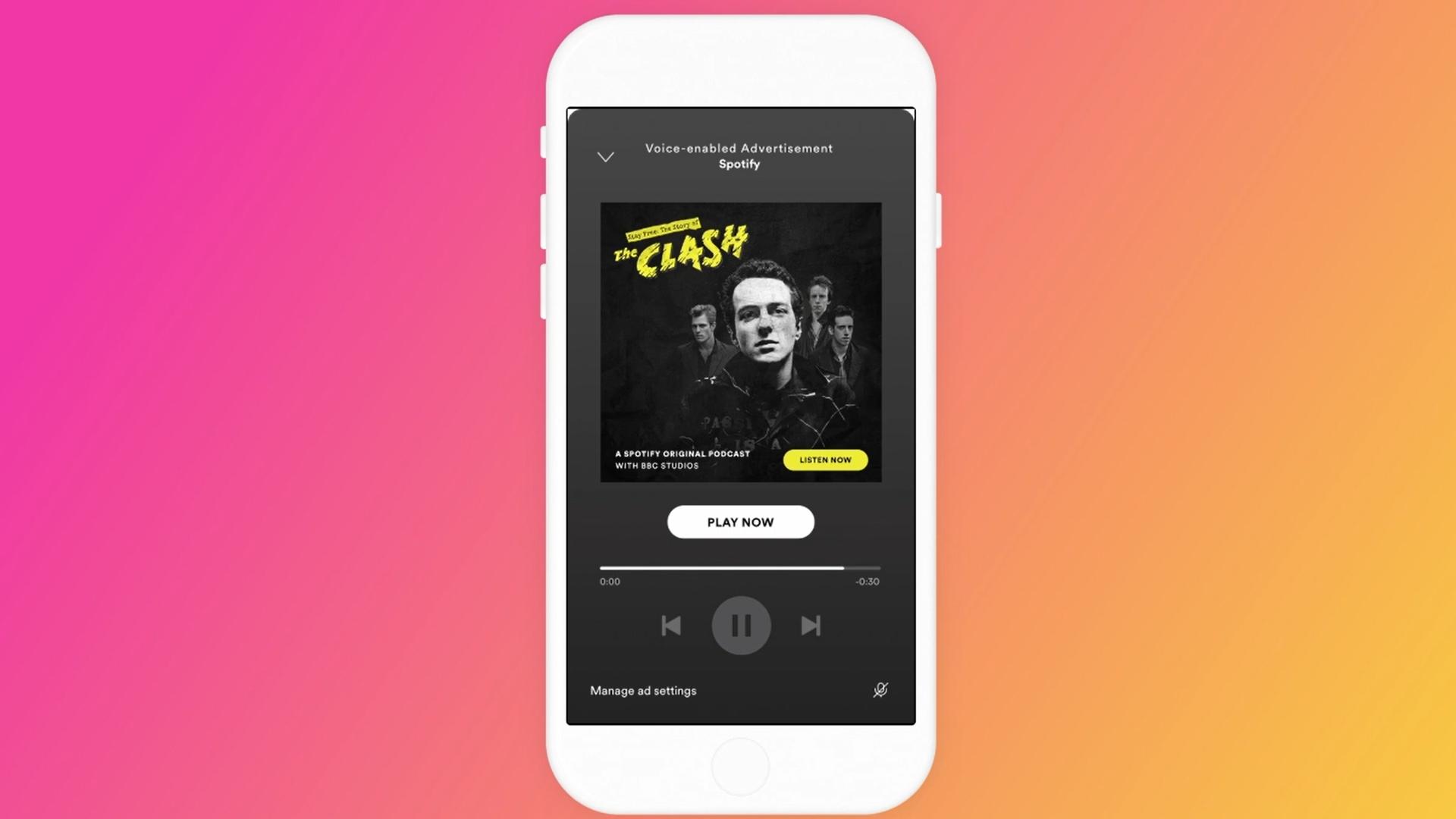 Nå tar de reklamene til nytt nivå - Spotify får stemmestyring