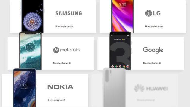 Google fjerner Huawei Mate X og P30 Pro fra Android.com