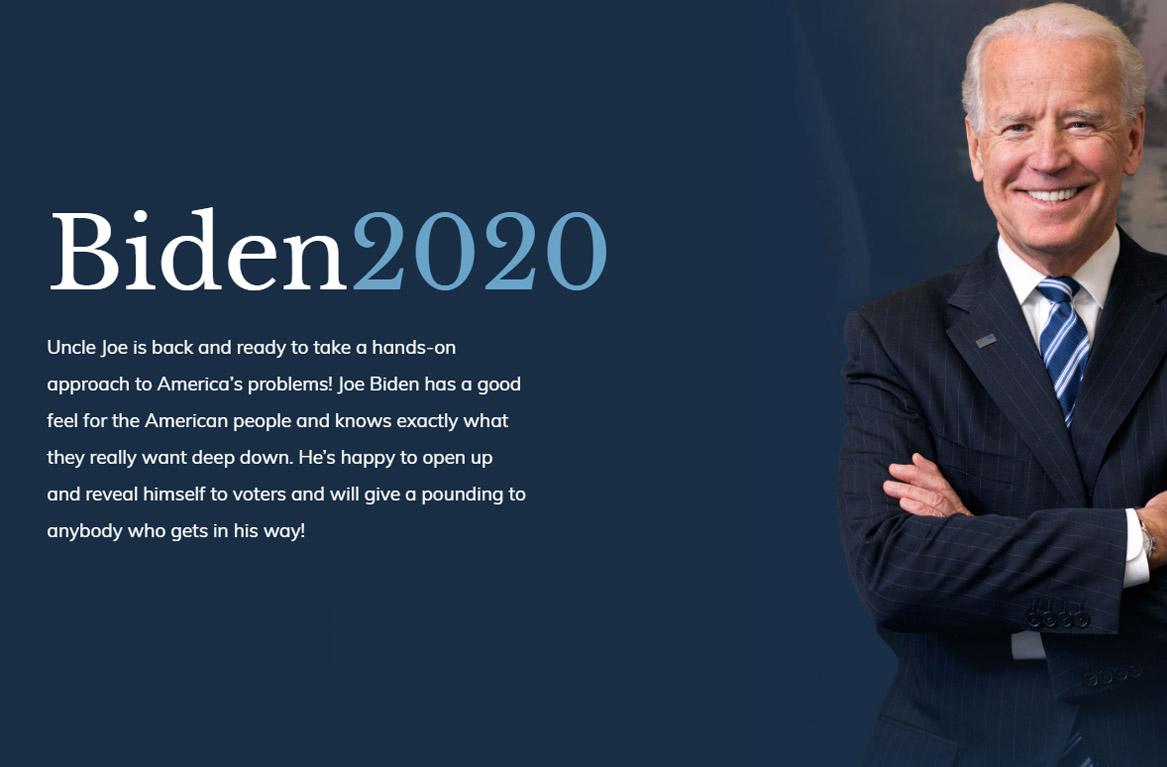 Presidentkandidat utrangert i Google av parodi-side