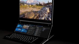 Intel viser frem bærbar med dobbel skjerm