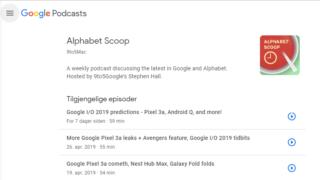 Nå dukker podcasts opp i søkeresultatene