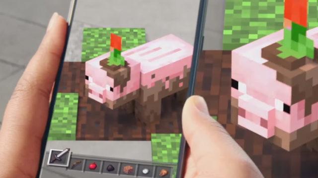 "Sjekk ut Minecraft i ""augmented reality"""